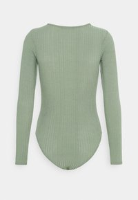 New Look - SOFT CREW NECK BODY - Long sleeved top - light green - 7