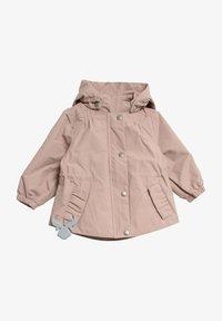 Wheat - Waterproof jacket - rose powder - 0