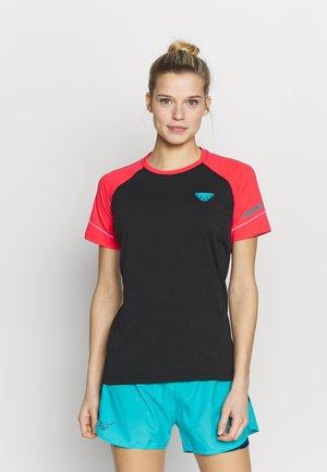 ALPINE PRO TEE - Print T-shirt - fluo pink