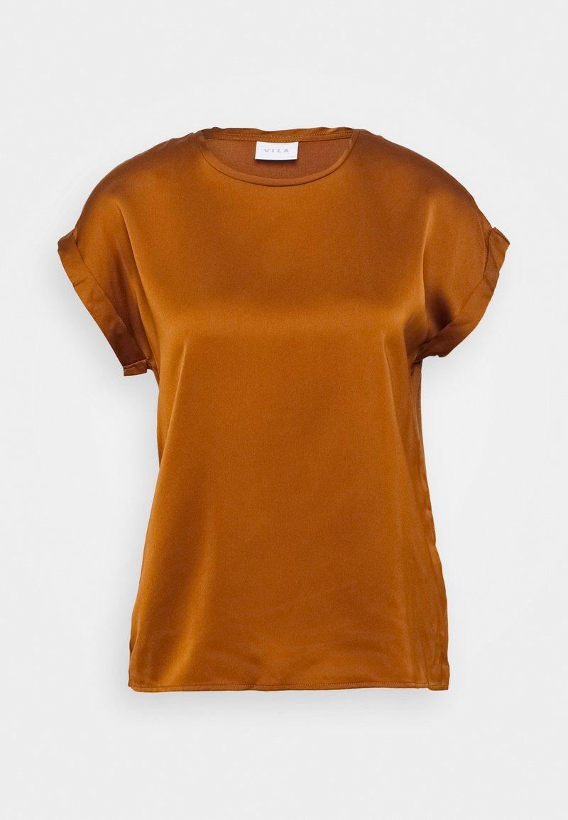 Vila - VIELLETTE - T-shirt - bas - adobe