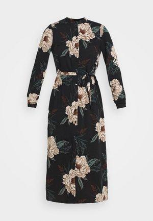 VMSIMPLY EASY SHIRT DRESS - Vapaa-ajan mekko - black
