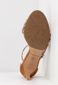 PERLATO - High heeled sandals - camel - 6
