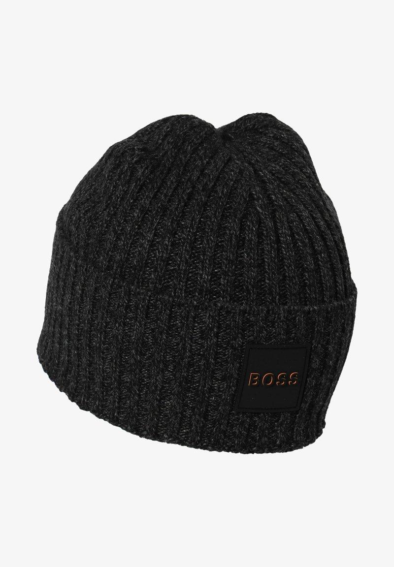 BOSS - KOSTERO - Beanie - schwarz