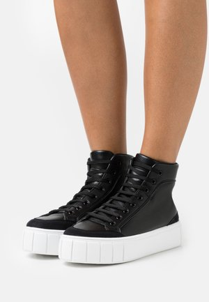 CHIVE TOP TRAINER - Sneakers alte - black