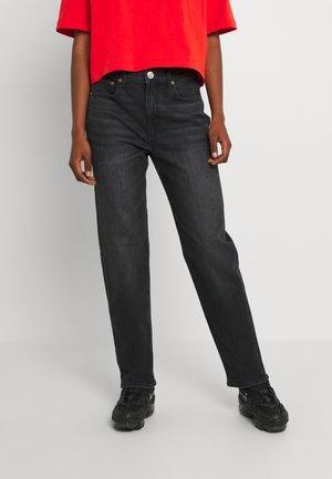 BOYFRIEND - Jeans relaxed fit - black