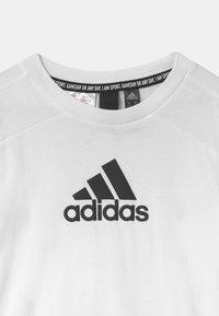 adidas Performance - UNISEX - Triko spotiskem - white/black - 2