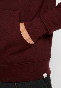 Solid - MORGAN - Zip-up sweatshirt - wine - 5