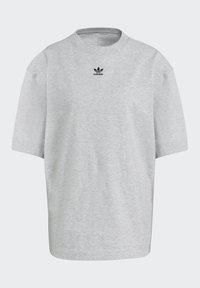 adidas Originals - TEE - Basic T-shirt - light grey heather - 7