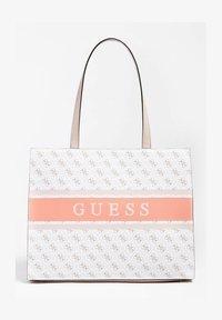 Guess - Tote bag - mehrfarbig, weiß - 0