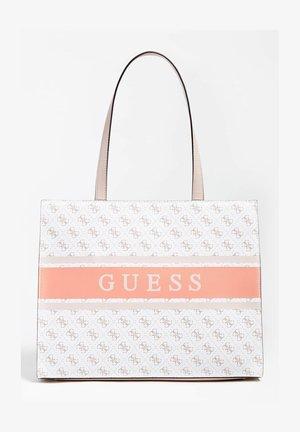 Shopping bag - mehrfarbig, weiß