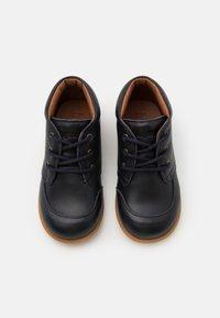 Bisgaard - BISGAARD LUCA LACE UNISEX - First shoes - navy - 3