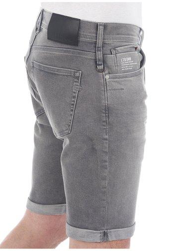 CORVIN - Denim shorts - grey