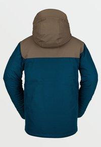 Volcom - SCORTCH INS JACKET - Snowboard jacket - blue - 1