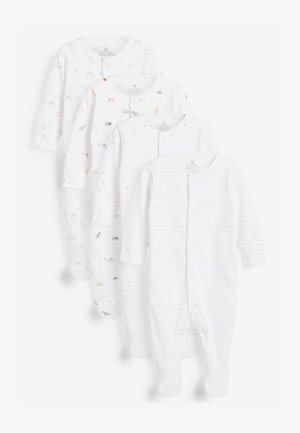 4 PACK  - Sleep suit - white