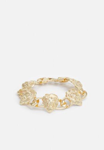 LION BRACELET UNISEX - Armbånd - gold-coloured