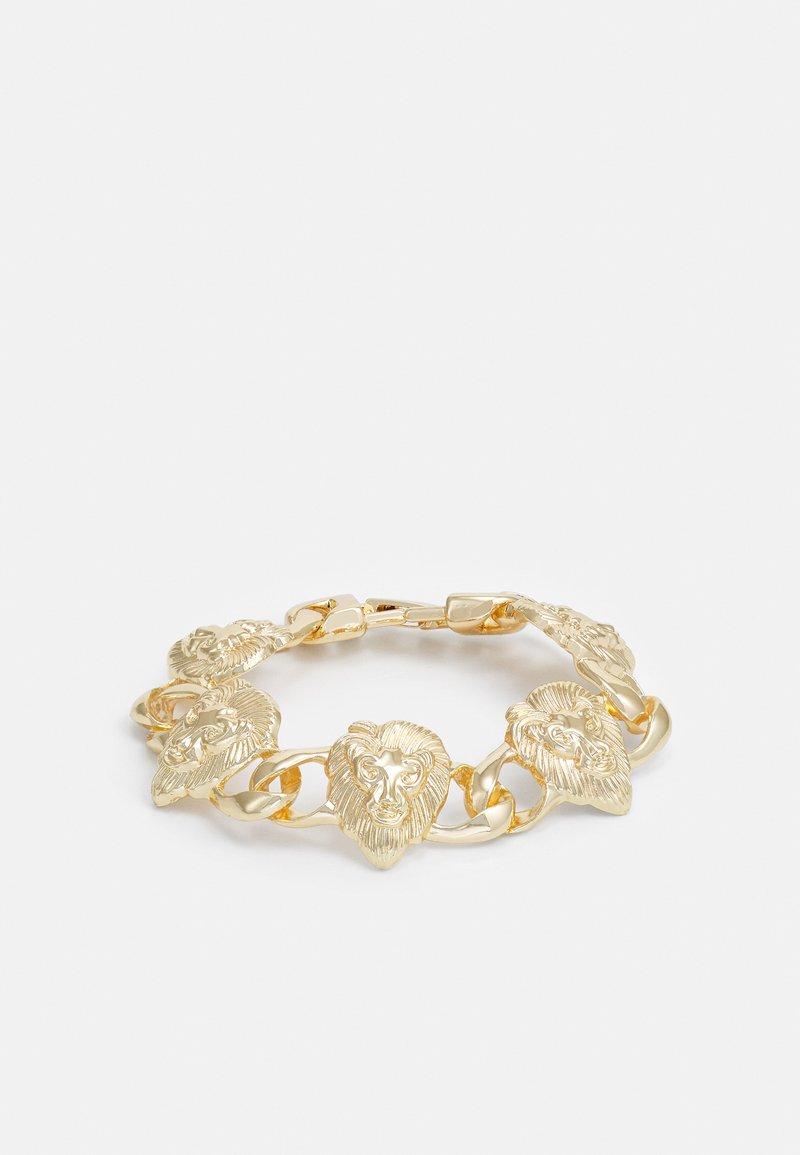 Urban Classics - LION BRACELET UNISEX - Armbånd - gold-coloured