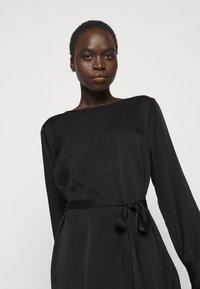 Sand Copenhagen - AMPARO DRESS - Cocktail dress / Party dress - black - 4