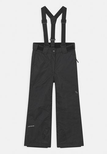 LORENA JR UNISEX - Snow pants - black