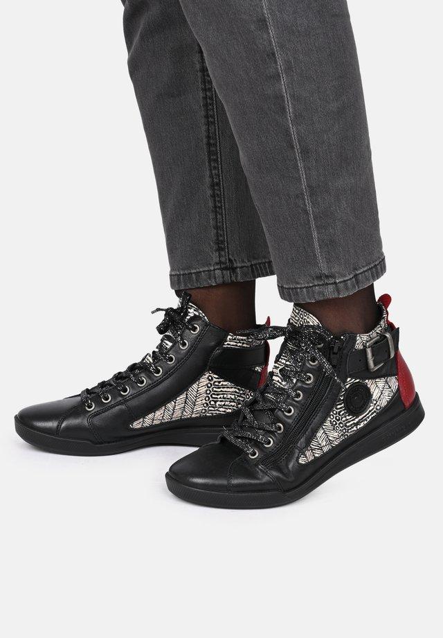 PALME - Sneakers hoog - black