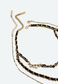 Uterqüe - Necklace - beige - 3