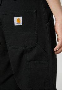 Carhartt WIP - SINGLE KNEE PANT DEARBORN - Straight leg jeans - black rinsed - 4