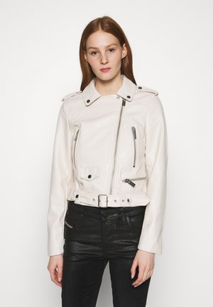 GAROU - Faux leather jacket - ivoire