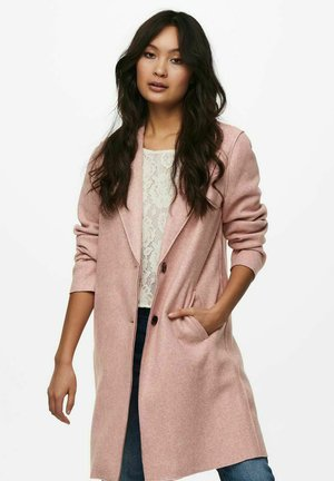 ONLCARRIE BONDED - Classic coat - misty rose