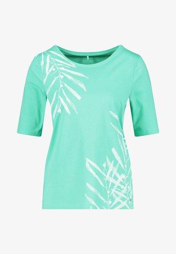T-shirt med print - aloe