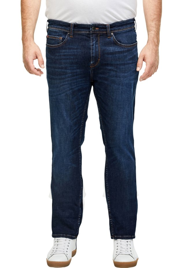 HYPERSTRETCH - Relaxed fit jeans - dark blue
