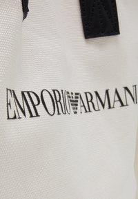 Emporio Armani - SET UNISEX - Tote bag - white - 5