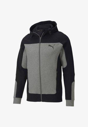 "PUMA HERREN SWEATSHIRTJACKE ""EVOSTRIPE"" - Zip-up hoodie - grau (231)"