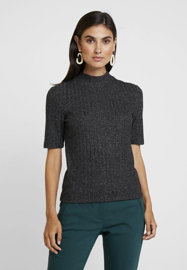 T-shirts print - dark grey melange