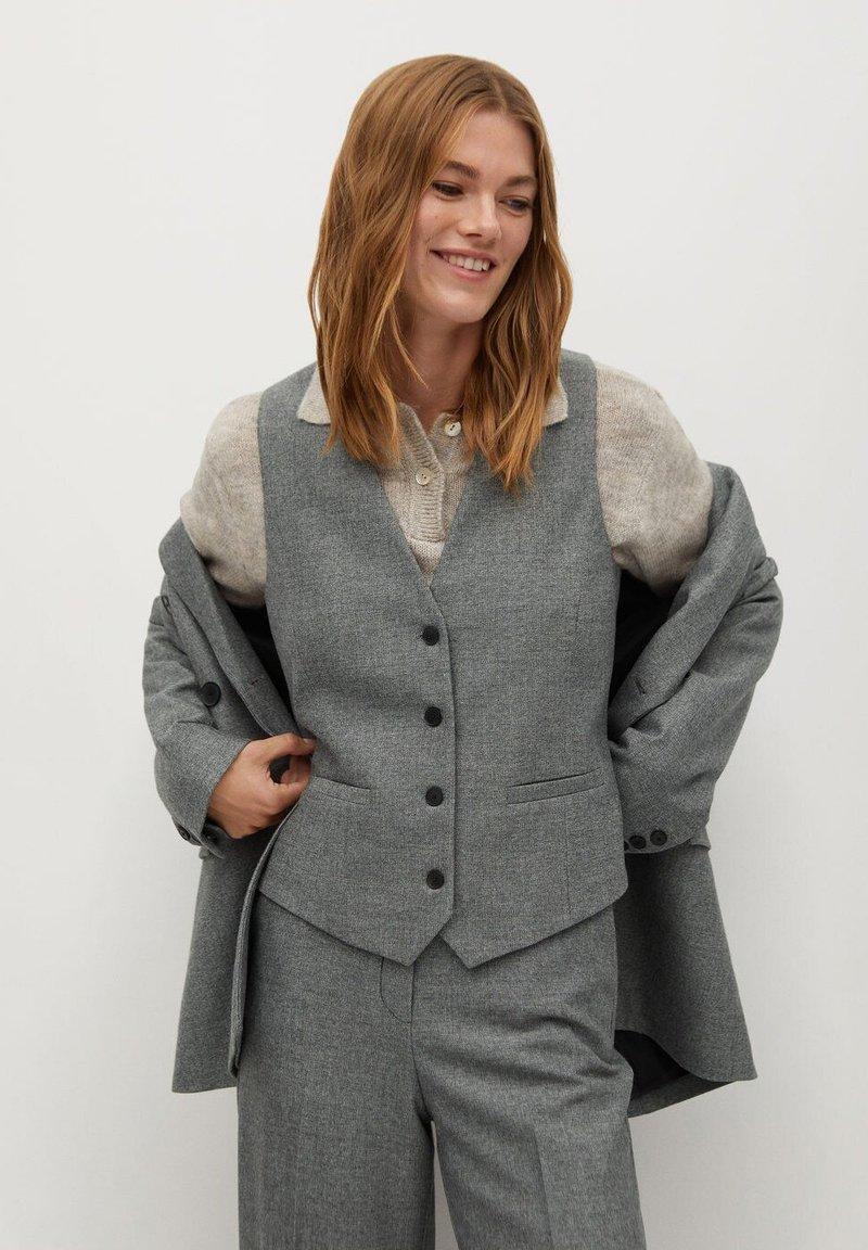 Mango - MILAN - Waistcoat - gris