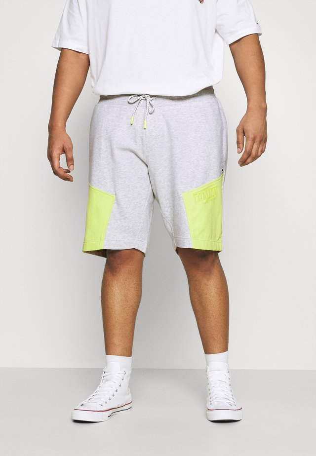 COLORBLOCK  - Short - silver grey heather/faded lime