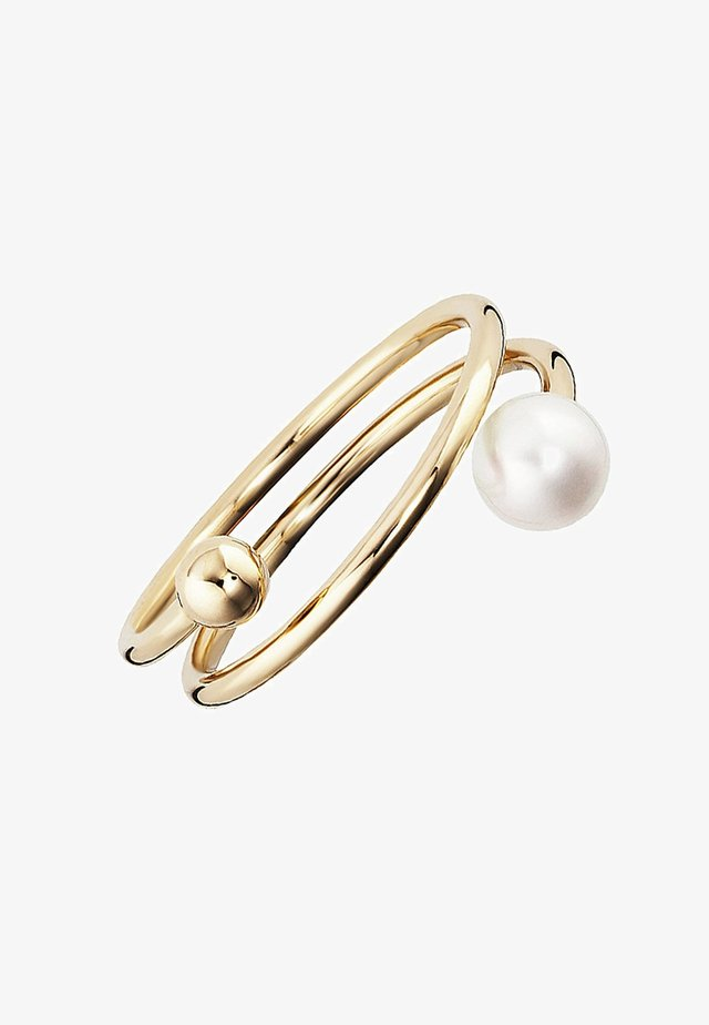 LOVE PEARL TWIST - Ring - gold-coloured