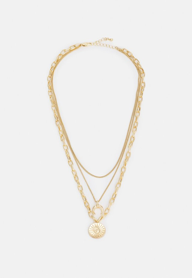 PCSANDELINE NECKLACE  - Necklace - gold-coloured