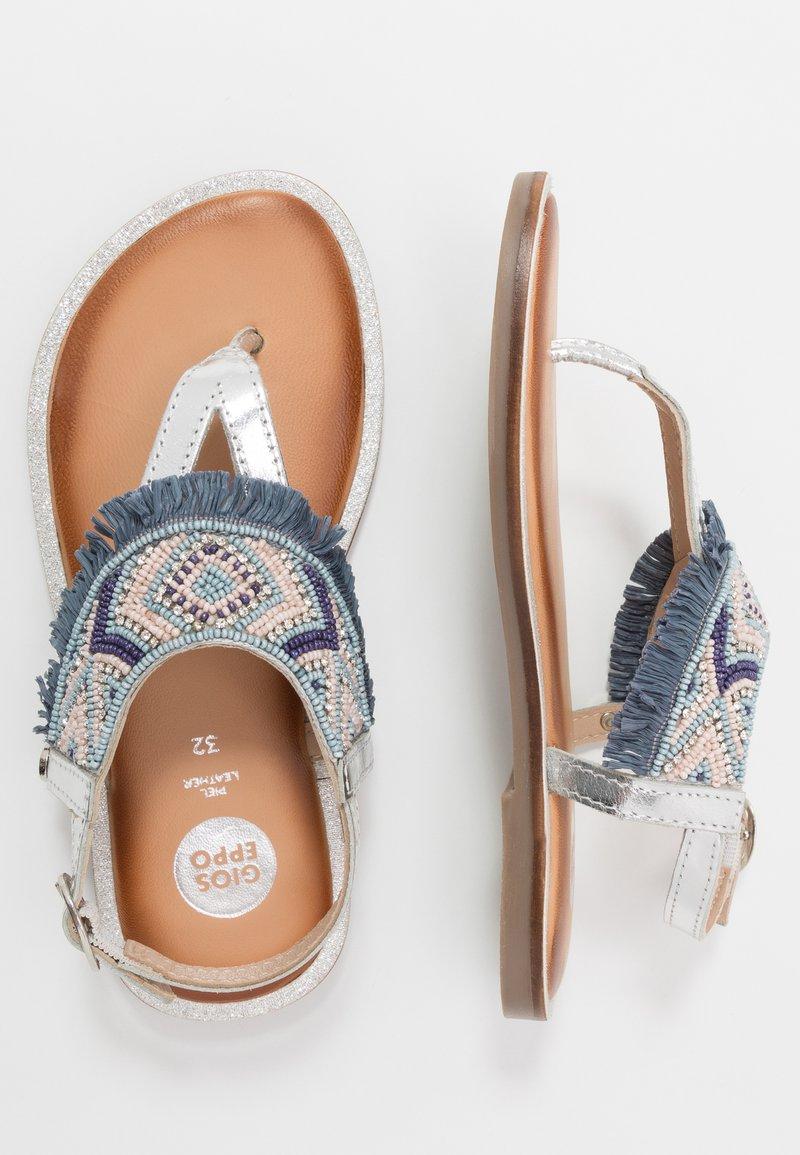 Gioseppo - BERMUDAS - T-bar sandals - blue