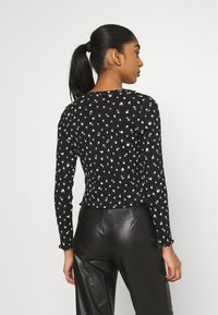 Monki - SANCY - Cardigan - black dark - 2