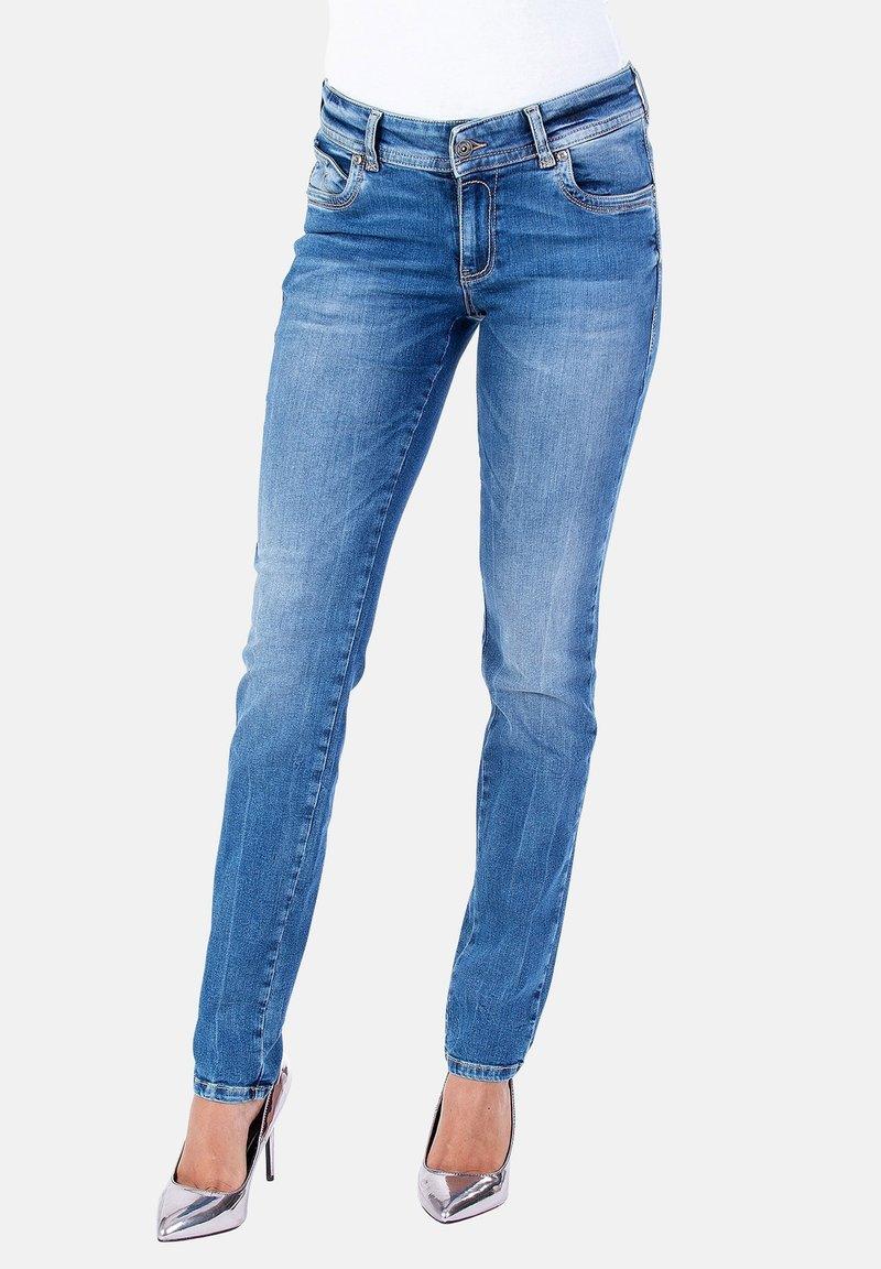Blue Monkey - Slim fit jeans - blau