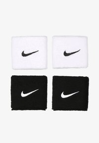 WRISTBANDS 4 PACK UNISEX - Sweatband - black/white