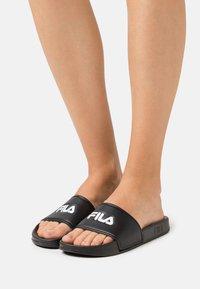 Fila - BAIA  - Pantofle - black - 0