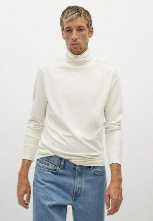 LUTON - T-shirt à manches longues - gebroken wit