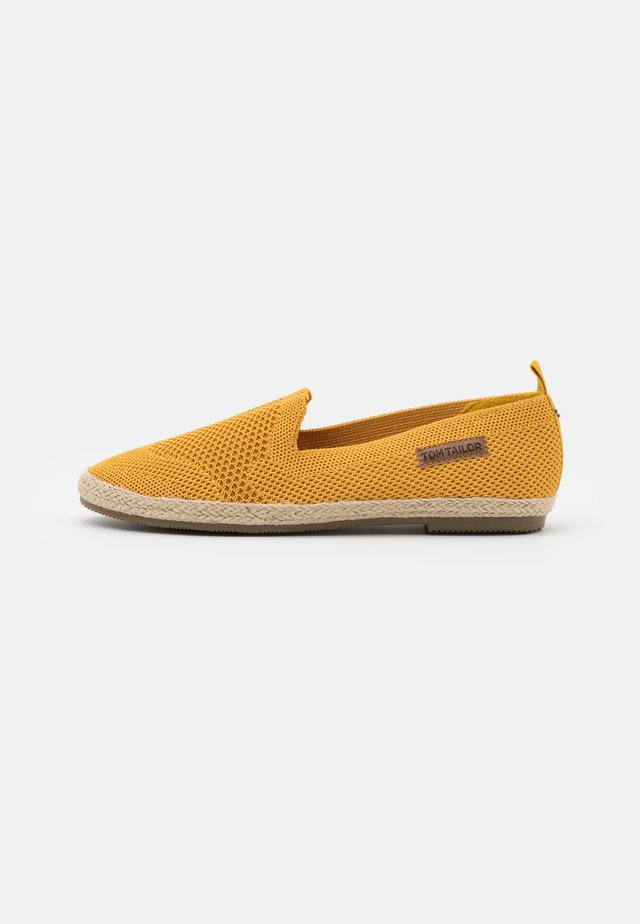 Espadrilky - curry