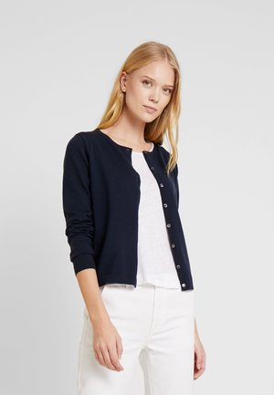 HERITAGE BUTTON UP CARDIGAN - Kardigan - midnight