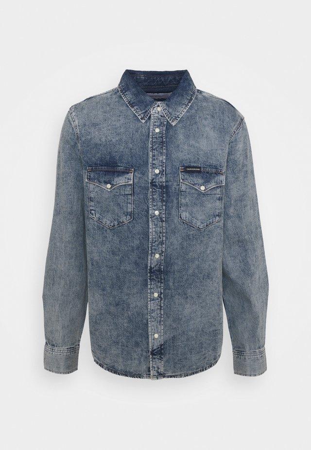 MODERN WESTERN - Shirt - denim light