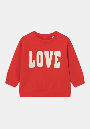 LOVE - Sweatshirt - red