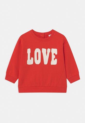 LOVE - Sweatshirt - red