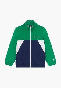 Champion - LEGACY 90'S BLOCK FULL ZIP  - Veste de survêtement - green/blue - 0