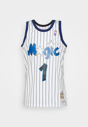 NBA ORLANDO MAGIC ANFERNEE HARDAWAY SWINGMAN  - Klubové oblečení - white