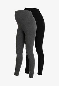 New Look Maternity - 2 PACK - Leggings - Trousers - grey - 4